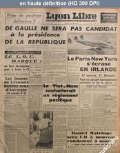 LYON LIBRE du 29 décembre 1946