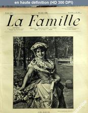 LA FAMILLE  numéro 1403 du 26 août 1906