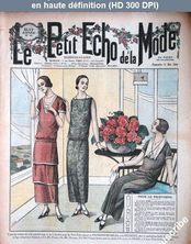 LE PETIT ECHO DE LA MODE  numéro 19 du 11 mai 1924