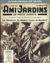 L' AMI DES JARDINS  du 01 juillet 1946