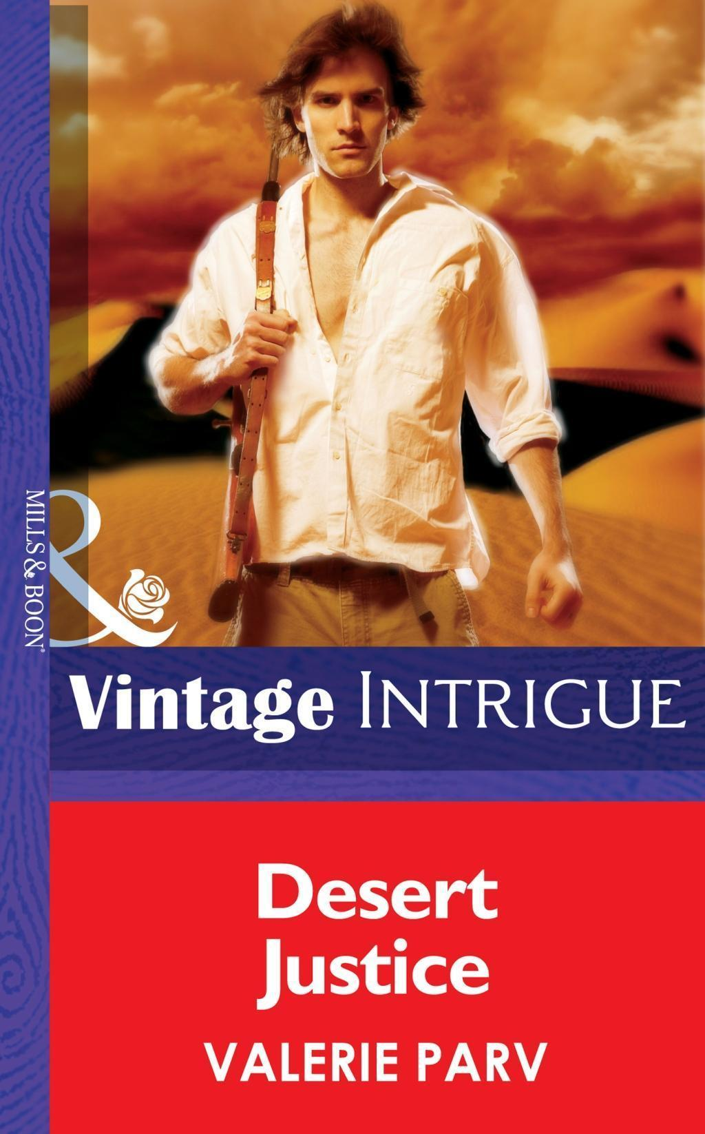 Desert Justice (Mills & Boon Intrigue)