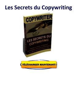 Les Secrets du Copywriting pdf gratuit