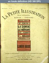 LA PETITE ILLUSTRATION THEATRE  numéro 48 du 31 janvier 1914
