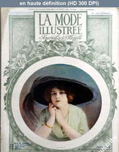 LA MODE ILLUSTREE  numéro 37 du 15 septembre 1912