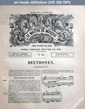 LE MAITRE DE MUSIQUE  numéro 16 du 15 août 1877