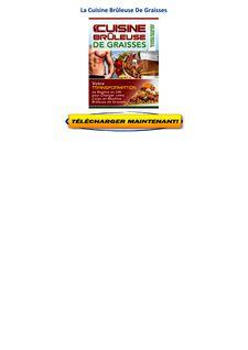 t 233 l 233 charger la cuisine br 251 leuse de graisses pdf gratuit mike geary catherine ebeling avis pdf