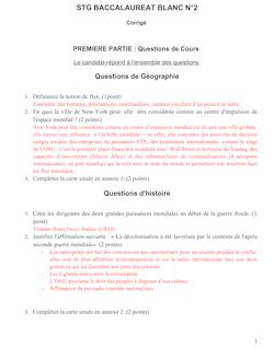 STG BACCALAUREAT BLANC N°2