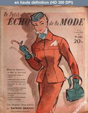 LE PETIT ECHO DE LA MODE  numéro 6 du 07 février 1954