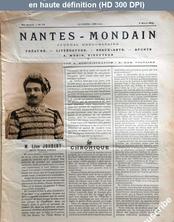 NANTES MONDAIN numéro 23 du 08 mars 1902