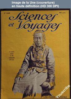 SCIENCES ET VOYAGES numéro 348 du 29 avril 1926