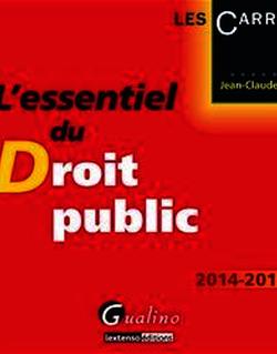 L'essentiel du droit public 2014-2015