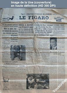 LE FIGARO  numéro 3311 du 30 avril 1955