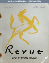REVUE DE LA 5 EME DIVISION BLINDEE numéro 38 - 39 du 15 décembre 1948