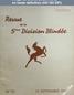 REVUE DE LA 5 EME DIVISION BLINDEE numéro 23 du 15 septembre 1947