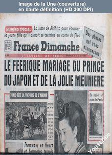 FRANCE DIMANCHE numéro 660 du 16 avril 1959