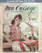 MON OUVRAGE numéro 415 du 01 juin 1940