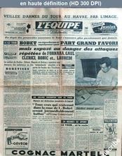L' EQUIPE  numéro 2877 du 07 juillet 1955
