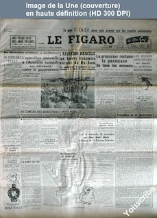 LE FIGARO  numéro 2556 du 27 novembre 1952