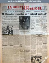 LA NOUVELLE REPUBLIQUE  numéro 962 du 23 octobre 1947