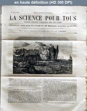 LA SCIENCE POUR TOUS  numéro 29 du 16 juin 1864