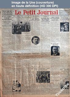 LE PETIT JOURNAL  numéro 23274 du 06 octobre 1926