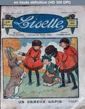 LISETTE numéro 38 du 02 avril 1922