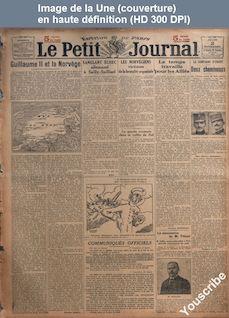 LE PETIT JOURNAL  numéro 19669 du 02 novembre 1916