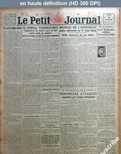 LE PETIT JOURNAL  du 06 décembre 1917