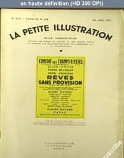 LA PETITE ILLUSTRATION THEATRE  numéro 827 du 26 juin 1937