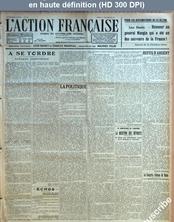 L' ACTION FRANCAISE  numéro 355 du 21 décembre 1922