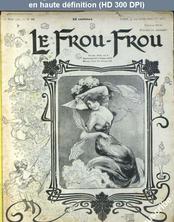 LE FROU FROU  numéro 23 du 23 mars 1901