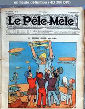 LE PELE MELE  numéro 39 du 27 septembre 1908