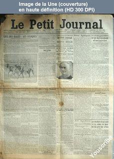 LE PETIT JOURNAL  numéro 18447 du 29 juin 1913