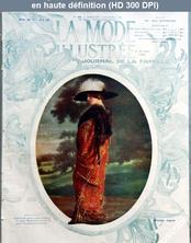 LA MODE ILLUSTREE  numéro 49 du 03 décembre 1911