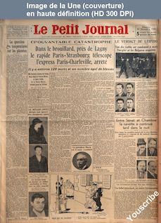 LE PETIT JOURNAL  numéro 25910 du 24 décembre 1933