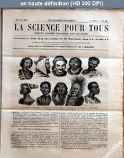 LA SCIENCE POUR TOUS  numéro 38 du 22 août 1861
