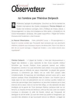 Ici l'ombre par Thérèse Delpech