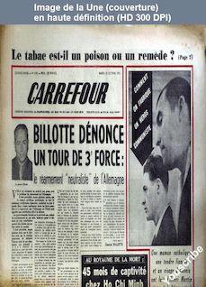CARREFOUR numéro 319 du 24 octobre 1950