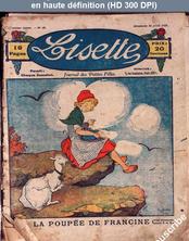 LISETTE numéro 40 du 16 avril 1922