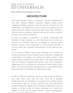 Dire l 39 architecture dans l 39 antiquit renaud robert cours for Architecture classique definition
