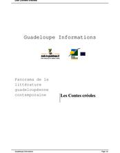 Les contes créoles de Guadeloupe