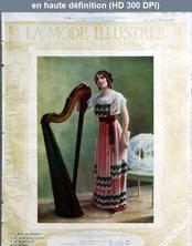 LA MODE ILLUSTREE  numéro 50 du 10 décembre 1911