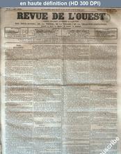 REVUE DE L'OUEST numéro 21 du 18 février 1862