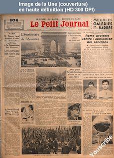 LE PETIT JOURNAL  numéro 26598 du 12 novembre 1935