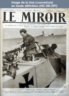 LE MIROIR  numéro 103 du 14 novembre 1915