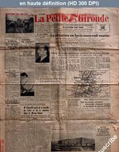 LA PETITE GIRONDE  numéro 25148 du 12 juin 1941