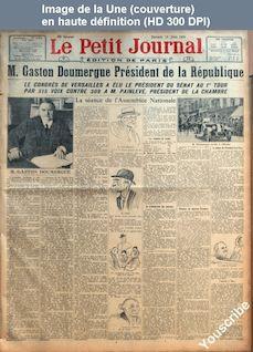 LE PETIT JOURNAL  numéro 22430 du 14 juin 1924