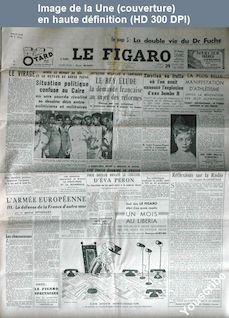 LE FIGARO  numéro 2453 du 29 juillet 1952