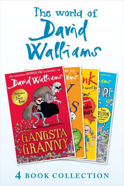 The World of David Walliams 4 Book Collection (The Boy in the Dress, Mr Stink, Billionaire Boy, Gangsta Granny)