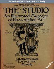 THE STUDIO  numéro 182 du 15 mai 1908